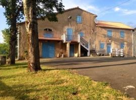 House La maison de baudecamy, Lacrouzette (рядом с городом Ferrières)