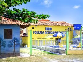 Pousada Refúgio do Forte, Itamaracá (Vila Velha yakınında)
