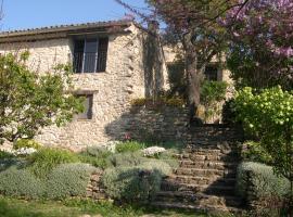 Maison d'artiste Luberon, Auribeau (рядом с городом Castellet)