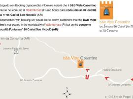 B&B Vista Casentino, Pratovecchio