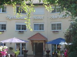 Hotel Am Wald, Michendorf (Kietz yakınında)