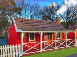 Platypus Playground Riverside Cottage, Westerway (Derwent yakınında)
