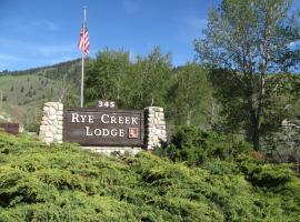 Rye Creek Lodge, Darby (in de buurt van Hamilton)