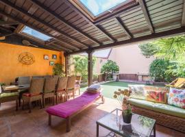 Friendly Rentals Boho Garden, Мадрид (рядом с городом Valdeconejos)
