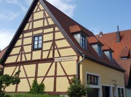 Baumeisterhaus, Dinkelsbühl (Langfurth yakınında)
