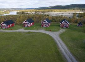 Grensen hytteutleie, Карасйок (рядом с городом Koikkiniva)
