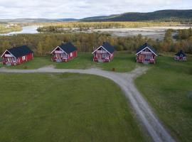 Grensen hytteutleie, Карасйок (рядом с городом Outakoski)