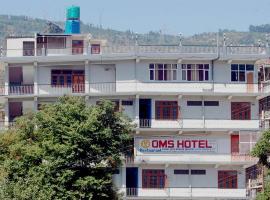 Oms Hotel & Restaurant, Karsog (рядом с городом Jhungi)