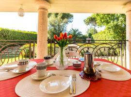Stunning Imperial Villa Within the City of Rome