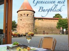 Gasthof Zur Burg, Hohenberg an der Eger (Pomezí nad Ohří yakınında)