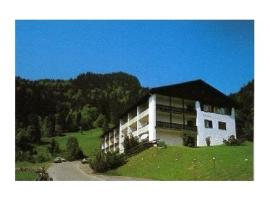 Falkenhorst-Wohnung-19, Oberstdorf (Lochwiesen yakınında)