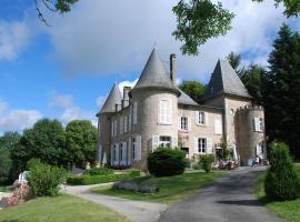 Château Le Mialaret, Нёвик (рядом с городом Lamazière-Basse)