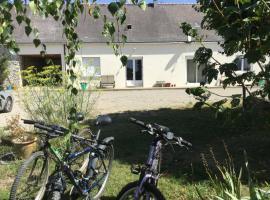 Le Bois Farmhouse, Erbray (рядом с городом Bonnoeuvre)