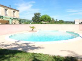 Villa avec piscine, Lansac (рядом с городом Bourg-sur-Gironde)