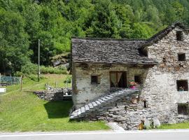 Rustico Camblée, Peccia (Sornico yakınında)