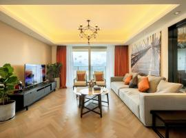 Geli Haian Seaview North European Style Boutique Holiday Apartment, Zhuhai (Tangjia yakınında)