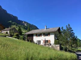 Schwendi Maison, Mels (Weisstannen yakınında)