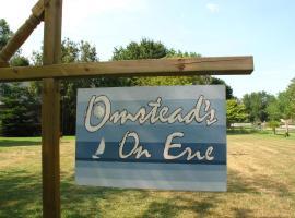 Omstead's On Erie B&B, Wheatley (Tilbury yakınında)