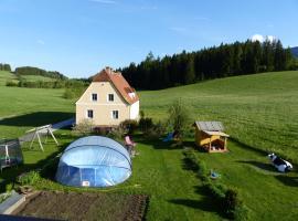 Ferienhaus Wohleser, Mariahof (Sankt Lorenzen bei Scheifling yakınında)