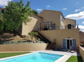Maison Piscine Village Vue Imprénable, Montouliers (рядом с городом Argeliers)