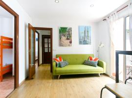 Apartment Montjuic, Барселона (рядом с городом Montjuich)