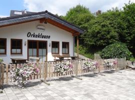 Ferienhaus Orkeklause, Winterberg (Elkeringhausen yakınında)