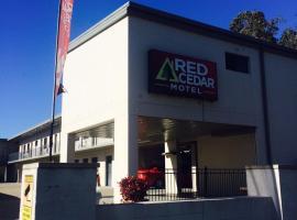 Red Cedar Motel, Muswellbrook (Denman yakınında)