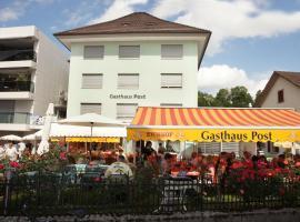 Backpackers Gasthaus Post, Willisau (Hergiswil yakınında)