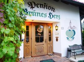 Pension Grünes Herz, Tonndorf (Nauendorf yakınında)