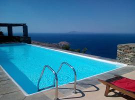 Andros Island Amazing Sea Views Mountain Lodge, Apróvaton