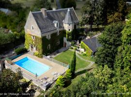 Manoir de l'Abbaye, Seuilly (рядом с городом Cinais)