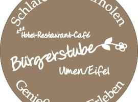 Hotel Restaurant Bürgerstube, Ulmen (Auderath yakınında)