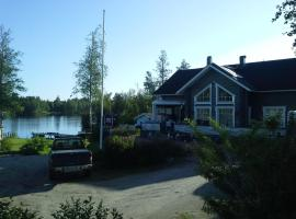 Villa Blå, Gädda
