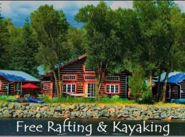 Riverside Meadows Cabins, South Fork (in de buurt van Del Norte)
