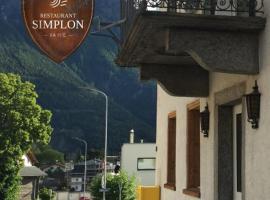 Hotel Simplon va hie, Brig (Ried-Brig yakınında)