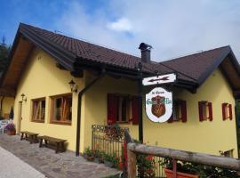Garnì Sella Cipriani, Borgo