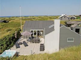 Five-Bedroom Holiday home Løkken with a room Hot Tub 04