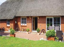 Holiday home Achtern Büttel Y, Mulsum (Wremen yakınında)