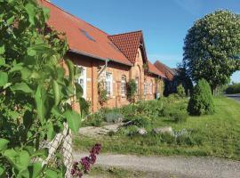 Apartment Bahnhofstr. 4-6 / K, Neu Gaarz (Sommerstorf yakınında)