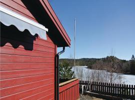 Four-Bedroom Holiday home Lyngdal with Sea View 02