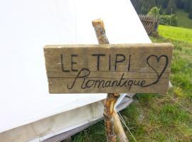 Le tipi romantique, Couvet (Travers yakınında)