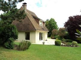Spacious house 5 min from Deauville, Vauville (рядом с городом Tourgeville)