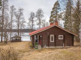Studio Holiday Home in Neuvola, Toikkalanmäki (рядом с городом Nykälä)