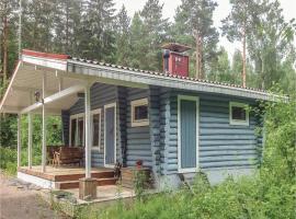 One-Bedroom Holiday Home in Hausjarvi, Hausjärvi (рядом с городом Hamina)