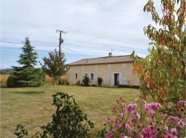 One-Bedroom Holiday Home in Annesse et Beaulieu, Анессе-э-Больё (рядом с городом Razac-sur-l'Isle)