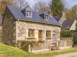 One-Bedroom Holiday Home in Trebrivan, Trébrivan (рядом с городом Duault)