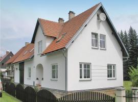 Apartment Mlade Buky 12, Mladé Buky (Hertvíkovice yakınında)
