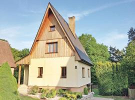 Holiday Home Dobren - 06, Jestřebice (Blatce yakınında)
