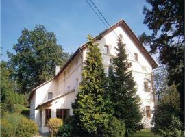 Holiday home Horni Habartice, Velká Bukovina (Stará Oleška yakınında)