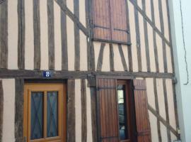 Le gîte Camille Claudel, Nogent-sur-Seine (рядом с городом Courtioux)